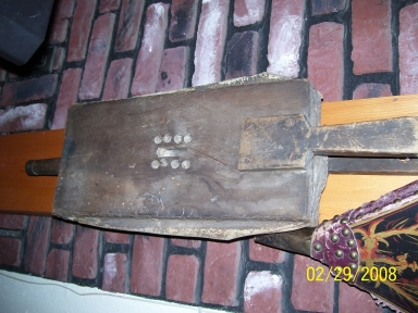 One of the great old bellows you will find at antiquefireplacebellows.com